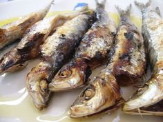 """Sardines from Lesvos Island - Whether grilled, fried or """"pastes"""" ...simply delicious!"""