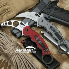 Fox knives karambit folder and trainer