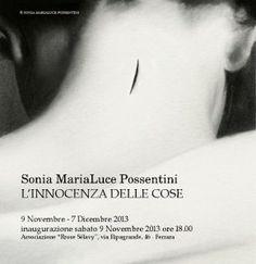 invito alla personale della illustratrice Sonia MariaLuce Possentini