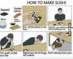 How To Make Sushi🍣