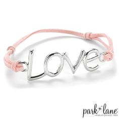 Love Me Bracelet    http://www.myparklane.com/chinton  Visiting from Promoting Direct Sales.  https://www.facebook.com/pages/Park-Lane-Jewelry-Cheryl-Hinton/155327374542857