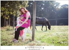 In His Image by Julie | Charlotte Wedding Photography and Family Portraiture | Maternity Session with the Horses Beautiful Sarah