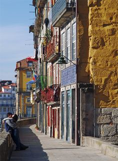 Rua Cimo do Muro, Porto, Portugal