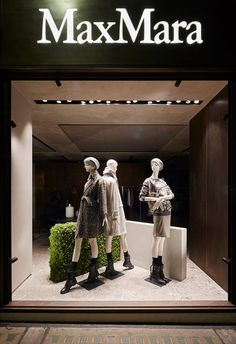 "MaxMara,Bond Street,London, UK, ""If you have to keep wondering where you stand with someone,it may be time to stop standing and start walking"", by Chameleon Visual, pinned by Ton van der Veer"