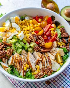 Grilled Chicken Salad + Homemade Sweet Onion Dressing THIS is the drop-what-you're-doing, make new plans around this salad kind of post. Include this in your weekend! Bring it … Healthy Snacks, Healthy Eating, Healthy Recipes, Clean Eating Salads, Dinner Healthy, Happy Healthy, Skinny Recipes, Healthy Nutrition, Keto Recipes