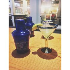 Drinks with my boyfriend after his long day of working.