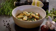 Irish stew met Guinness en pastinaak gnocchi uit 'Schapenvlees uit Warnsveld' #KMVB #kokenmetvanboven #hoofdgerecht #irish #stew #gnocchi