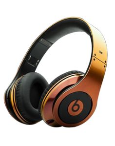 CHEAP MONSTER BEATS BY DR DRE STUDIO HEADPHONES HIGH PERFORMANCE COLORWARE COLLECTION ORANGE WITH BLACK $180.99
