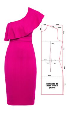Robe Diy Clothing, Sewing Clothes, Barbie Clothes, Fashion Sewing, Diy Fashion, Fashion Dresses, Dress Sewing Patterns, Clothing Patterns, Costura Fashion