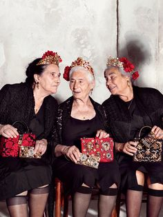 Advertising Campaign: Golden Age is the New Age...Dolce & Gabanna Spring 2015