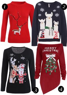 Brilhos da Moda: Doze camisolas para o Natal