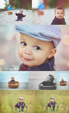 up inspiration, balloons, one year old photo session, toddler photoshoot, up photoshoot, hot air balloon, toddler posing, baby posing, baby photos, one year old boy, beach photos, vintage clothes for boys