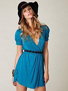 cute blue dress #dress #blue #clothing