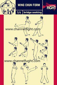 Wing Chun Form-Bridge Seeking 5/6