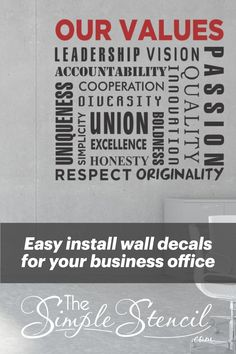 Personalised Round Office Sticker Logo Wall Window Business Design Your Own