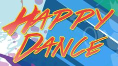 happy dance blog graphic