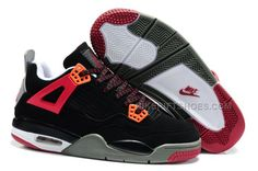 the best attitude 89b14 48239 Buy Nike Air Jordan 4 Kids Red Black Grey