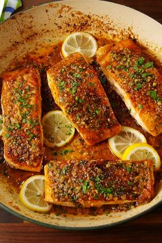 Cajun Parmesan Salmon Cajun seasoning transforms salmon from bleh to oh yeah!Get the recipe from Delish. Grilled Salmon This is the fastest an Best Salmon Recipe, Easy Salmon Recipes, Fish Recipes, Seafood Recipes, Keto Recipes, Cooking Recipes, Healthy Recipes, Seafood Meals, Parmesan Recipes