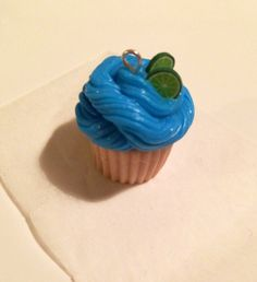 My first polymer clay cupcake!