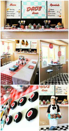 50 decorating ideas | 50s bedroom ideas - 50s theme decor - 1950s