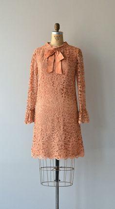 Hit Parade lace dress vintage 1960s dress lace 60s by DearGolden