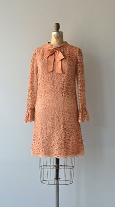 Hit Parade lace dress vintage 1960s dress lace 60s by DearGolden