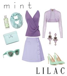 """Mint & Lilac"" by foreversublime ❤ liked on Polyvore featuring interior, interiors, interior design, home, home decor, interior decorating, Penny Loves Kenny, Billabong, Carven and Armani Collezioni"