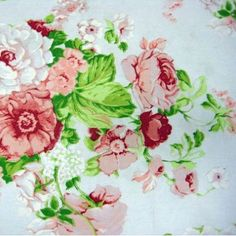 #lincraft #fabric Floral ~ pretty