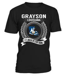 Grayson, Louisiana - It's Where My Story Begins #Grayson