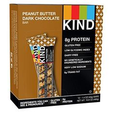 KIND+Bars,+Peanut+Butter+Dark+Chocolate+++Protein,+Gluten+Free,+1.4+Ounce+Bars,+12+Count