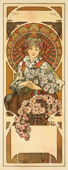 eros-dikaios:  Alphonse Mucha, Vystava ve Vyskove (1902) x