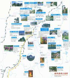 guilin yangshuo tour map, Travel Guide www.westchinago.com info@westchinago.com
