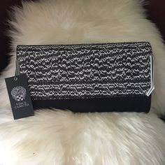 "⭐Vince Camuto Mae Leather Clutch Contemporary , mixed finish, color-blocking lends an exotic upgrade to a clean modern clutch. Metallic accents add a hint of gleam. Fold over top with magnetic closure. Interior features hardware detail and textured print front panel. Exterior features a wall  pocket.Dust bag included. Approx 6"" H x 11"" W x 2"" D.  Genuine leather exterior. Fabric lining, brand new with tags from Nordstrom, Vince Camuto Bags Clutches & Wristlets"