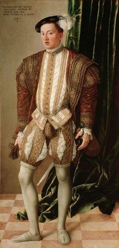 1548 Jakob Seisenegger - Archduke Ferdinand of Tirol, Son of the Holy Roman Emperor Ferdinand I