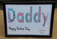 1st Fathers Day Frame. #fatherson #fatherslove #fathersontime #fatherandson #fatheranddaughter #fatherdaugher #daddy