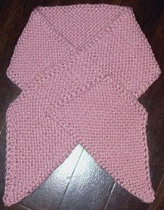 You can't help but feel a little whimsical when you start working on this simple knit scarf pattern. Created entirely out of the garter stitch, the Pink Ribbon Scarf features a unique chain stitch edging. Knitting Stitches, Knitting Patterns Free, Knit Patterns, Free Knitting, Baby Knitting, Free Pattern, Sweater Patterns, Knitting Tutorials, Knitting Machine