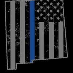 New Mexico Police & Law Enforcement Thin Blue Line