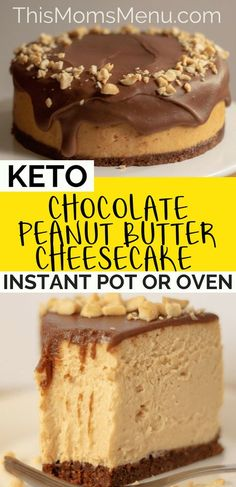 Nathalie Lefebvre saved to recette Keto Peanut Butter Chee. - - Nathalie Lefebvre saved to recette Keto Peanut Butter Chee… Nathalie Lefebvre saved to recette Keto Peanut Butter Cheesecake Keto Friendly Desserts, Low Carb Desserts, Low Carb Recipes, Dessert Recipes, Brownie Recipes, Healthy Desserts Peanut Butter, Low Carb Dessert Easy, Keto Desert Recipes, Vegetarian Recipes