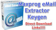 maxprog email extractor cracked is very fast, easy to use and multithread. It retrieves absolutely all valid e-mail addresses and generates an output file with Email Extractor, Internet E, Application Icon, Some Text, Printable Quotes, Software, Patches