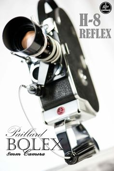 I took this shot of my 1961 Bolex H-8 Reflex movie camera which has an 8-36mm f/1.9 Vario-Switar c-mount zoom lens.  I haven't shot with it yet since I need to replace the viewfinder first!