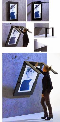 Frame/table with picture