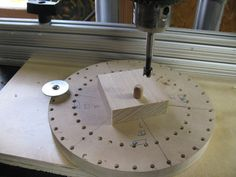 Wooden Models #166: Mag Wheel Making Jig - by htl @ LumberJocks.com ~ woodworking community Wooden Plane, Wooden Wheel, Wooden Toy Trucks, Corn Bags, Making Wooden Toys, Bird Mobile, Wood Toys Plans, Can Storage, Plan Toys