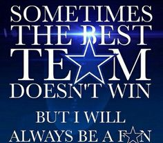 I stand by my team