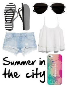 """""""Summer in the city"""" by katherinegrace1 ❤ liked on Polyvore"""