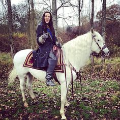 Hey, I'm on a horse #Versailles