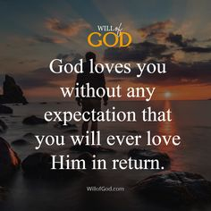 God loves you without any expectation that you will ever love Him in return. Jesus Faith, God Jesus, God Loves You, Gods Love, Love Him, Tattoo, Love Of God, Tattoos, Tattos