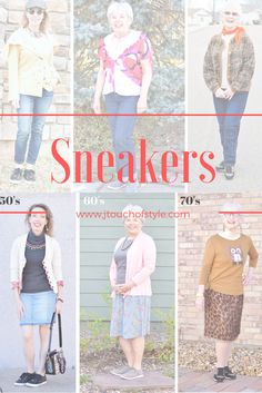 Sneakers for different Outfits
