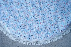 """Medium Round Padded Baby Play Mat / Tummy Time Mat - """"Organic Flair"""" by StyledbyOliviaGrace on Etsy"""