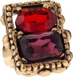 Oscar de la Renta Two-Facet Ring on shopstyle.com