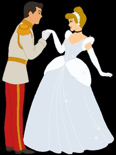 Cinderella & Prince Charming dancing